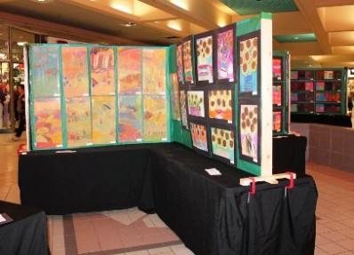 Children's art showcase