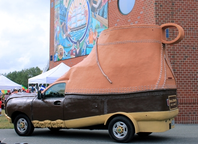 LL Bean shoe car