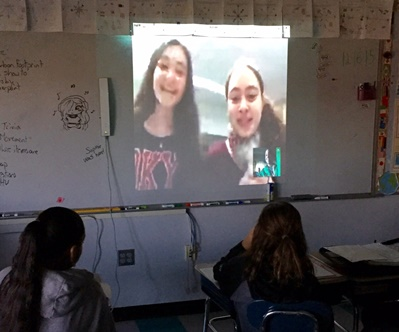 Global Scholars Skype chat