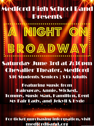 A Night on Broadway June 3